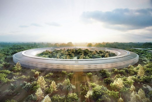 New Apple Campus - Render