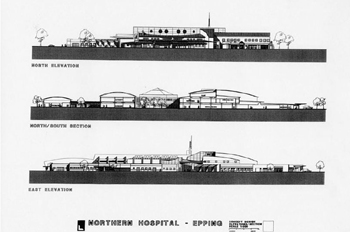 Northen Hospital Design Competition - Epping, Victoria